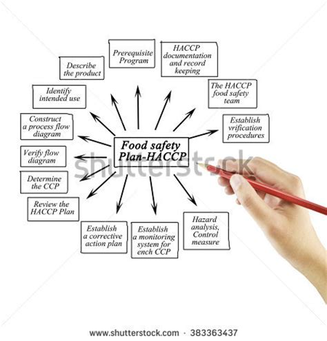 ccp cuisine writing element food safety planhaccp stock photo 383363437