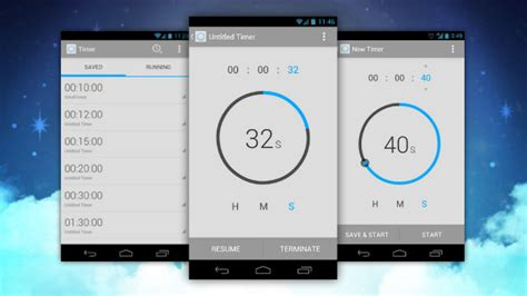 android timer timer for android is the most and functional timer