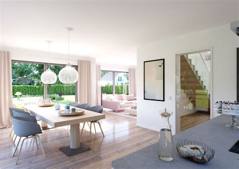 Wohn Und Essbereich by H 228 User Saxli Bodentiefe Fenster Flachdach