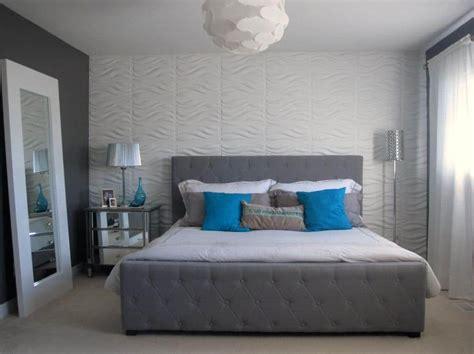 chambre des maitres moderne waves design decorative 3d wall panels by walldecor3d
