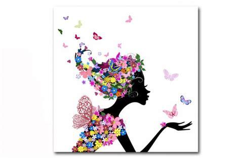 tableau enfant fee des fleurs  cm tableaux enfants