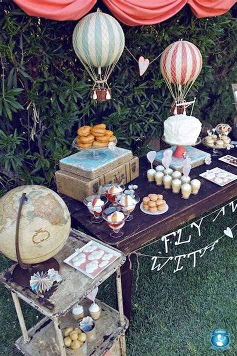 throw  travel themed party   party