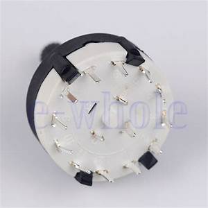 1x1 Pole 12 Position Panel Pcb Wiring Rotary Switch 1p12t