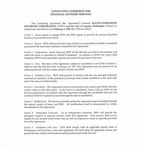 10 consultant agreement templates free sample example for Consultation agreement template
