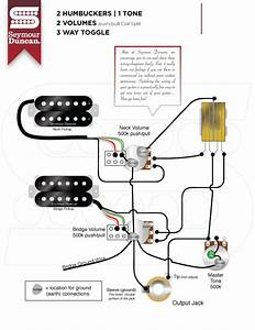 2 Humbucker  2 Vol  Push Pull   1 Tone  3 Way Toggle Wiring Help