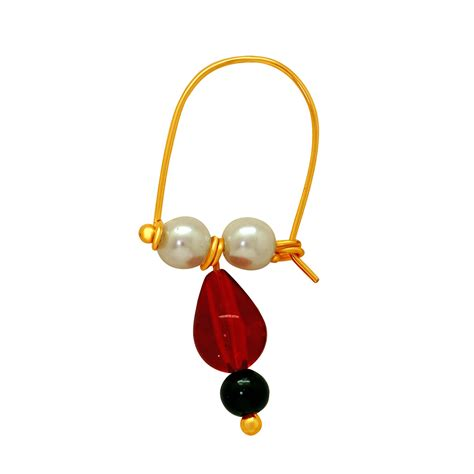 Mahi Gold Plated Peshwai Bhik Bali For Men Bb1101001g