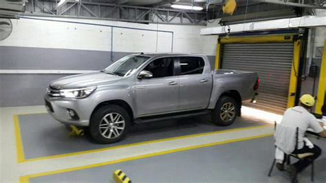 New 2018 Toyota Hilux Pickup Photographed Inside And Out