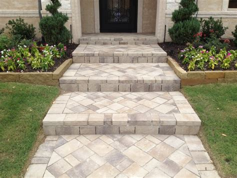 paver walkway ideas best pavers for walkway paver walkway installation plano tx legacy custom pavers