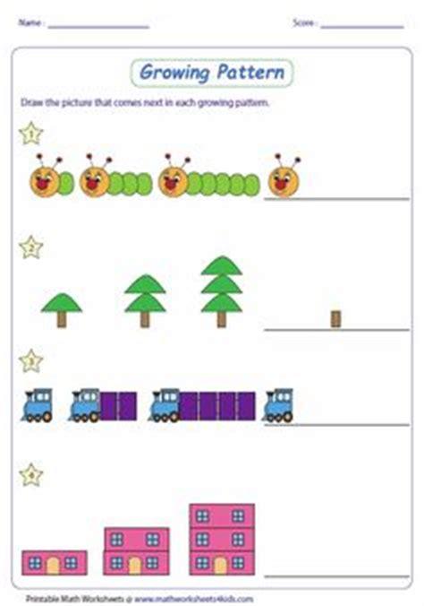 math patterns images  pinterest teaching