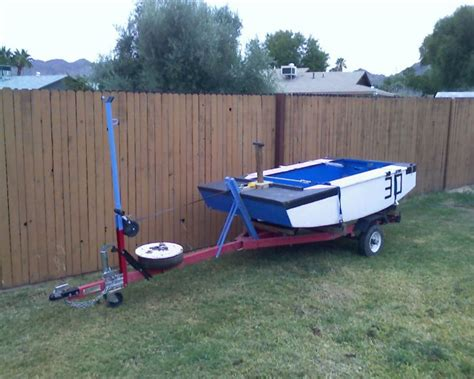 Cheap Jon Boats With Trailer by Build A Jon Boat Trailer Diy Boat Builder Plan
