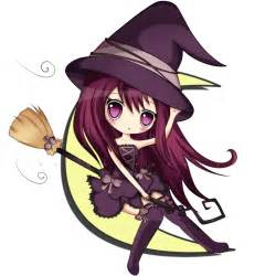 Cute Chibi Anime Witches