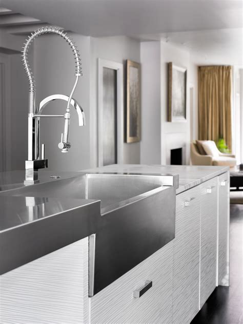 Sink Faucets And More by Kitchen Sink Designs With Awesome And Functional Faucet