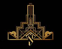 art deco design Silvatar Media; a luxuriously art deco logo