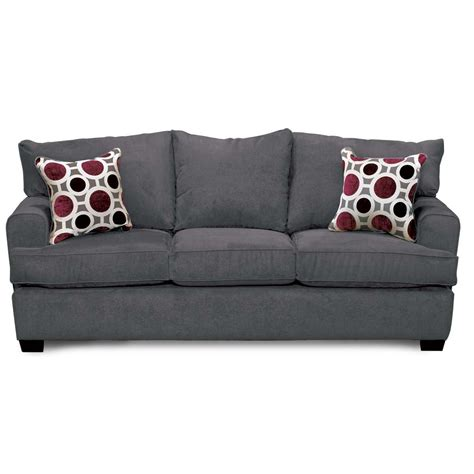 casual contemporary sterling gray sofa city rc willey furniture store