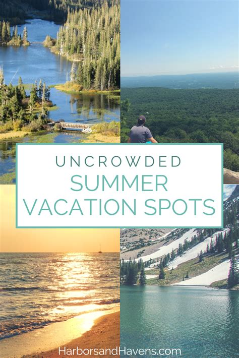 5 uncrowded summer vacation destinations in the usa harbors havens