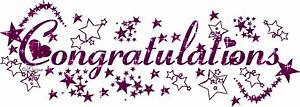 Free Animated Congratulations Messages Gifs, Congratulations