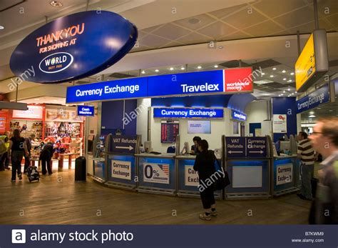 bureaux de change bureau de change office operated by travelex at heathrow