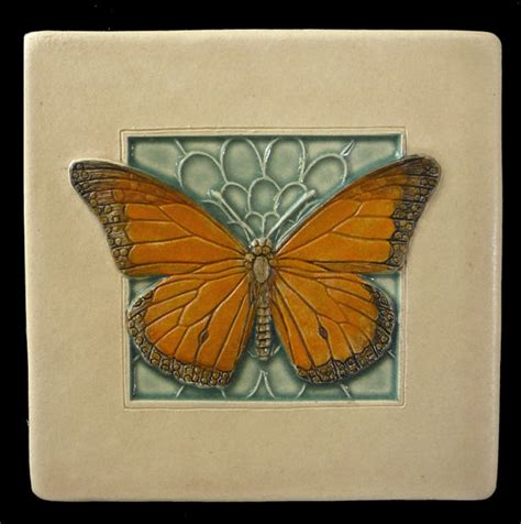 tile ceramic tile monarch butterfly 4x4 by