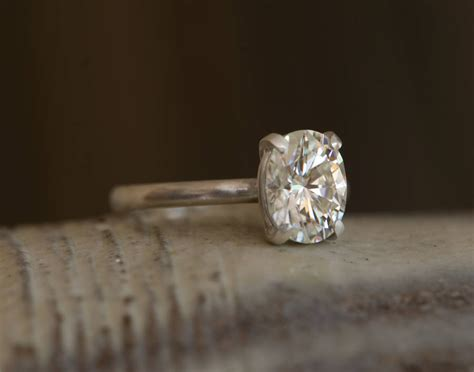 forever brilliant moissanite engagement ring by william