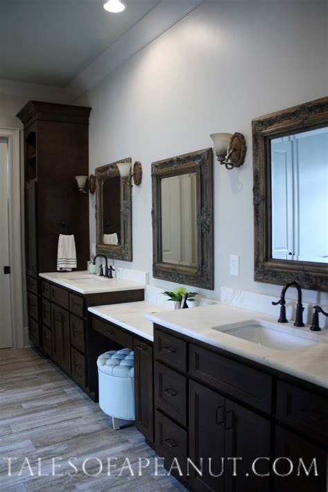 masterbath vanities building a home master bathroom reveal jenn elwell