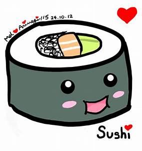 Sushi Drawing - Animegirl15 © 2018 - Oct 24, 2012