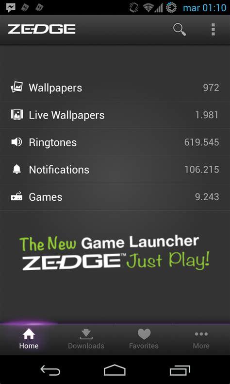 zedge android come scaricare sfondi suonerie gratis in android zedge