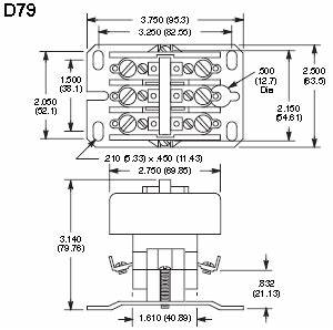 nte electronics rly400 series definite purpose contactors With pole contactor wiring diagram moreover 2 pole contactor wiring diagram