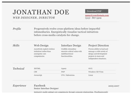 How To Create A Resume Free by How To Create A Resume 5 Resume Cv Design