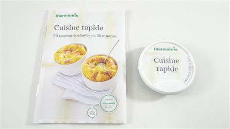 recette de cuisine thermomix clé de 50 recettes quot cuisine rapide quot pour vorwerk