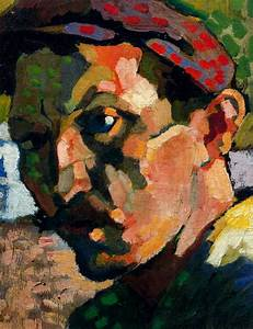 Self Portrait with a Cap, c.1905 - Andre Derain - WikiArt.org