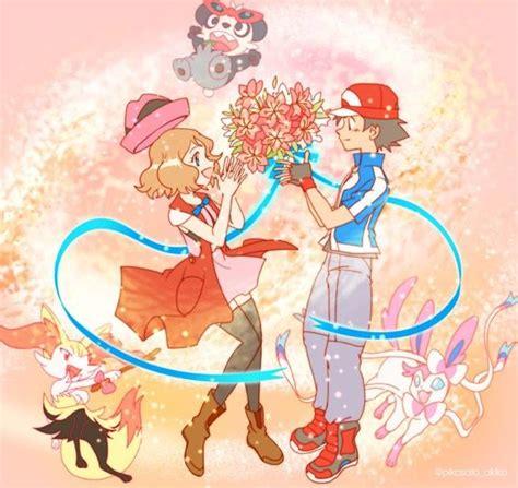 pok 233 mon xyz anime ash and serena amourshipping