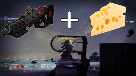 destiny zero hour room cheese