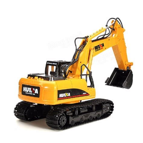 huina toys channel  rc metal excavator