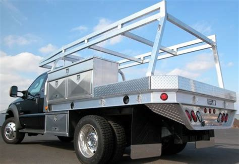 homemade truck body contractor flatbed body truck bed welding rigs