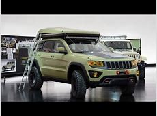 Jeep Grand Cherokee Overlander Concept 2015 Easter Jeep