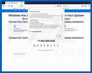 How To Remove Fastsupport Com Scam