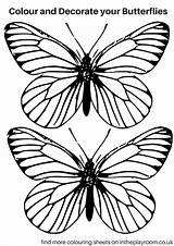 Pages Butterfly Colouring Printable Probably Better Pdf Version Want sketch template
