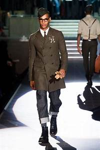 Military inspired look by Dsquared Men Collection Fall ...