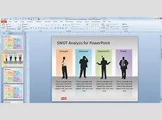 Free SWOT Analysis PowerPoint Template Free PowerPoint