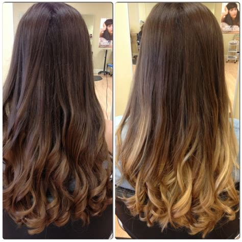 dark brown hair with light brown ombre ombre hair dark brown to light brown www imgkid