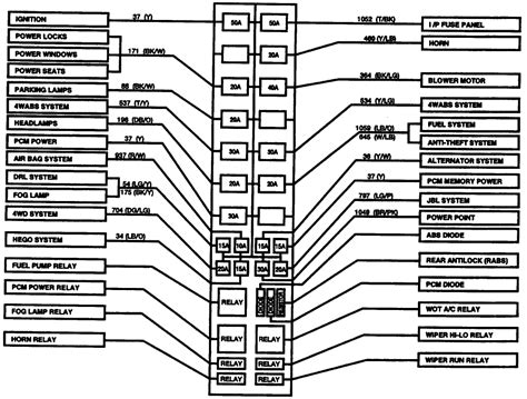 1995 Ford Ranger Fuse Box Location by Where Can I Get A Diagram For The Fuse Box The