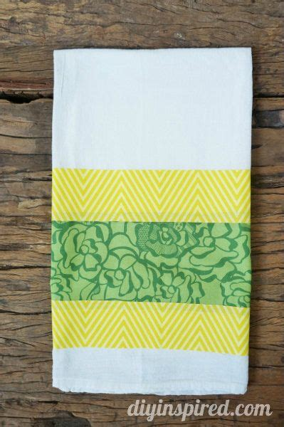 Kitchen Towel Fabric by No Sew St S Day Kitchen Towel Towels Fabrics