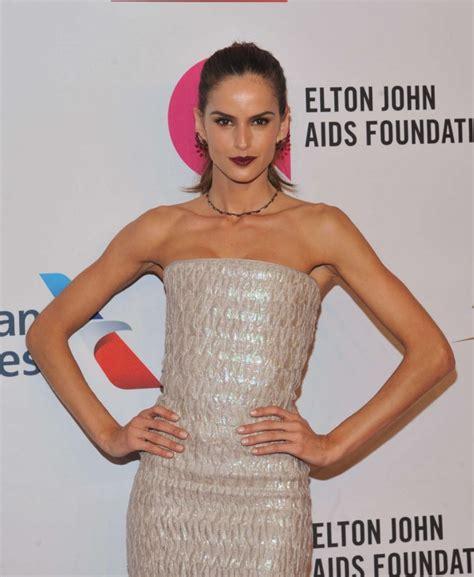 elton john swimsuit izabel goulart elton john aids foundations 2015 an