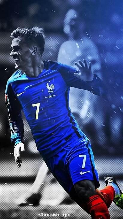 Griezmann France Antoine Football Pogba Soccer Wallpapers