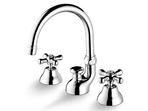stella rubinetti rubinetto per lavabo a 3 fori da piano roma 3225