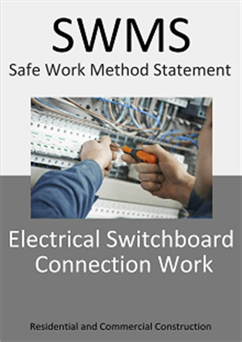 safe work method statement template nsw qld swms template nsw qld