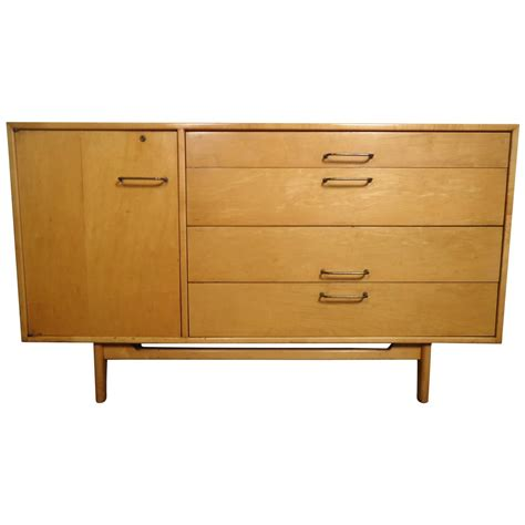 Maple Credenza - mid century maple credenza by jens risom for sale at 1stdibs