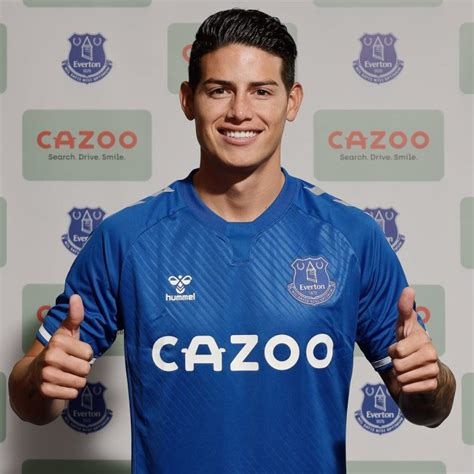James Rodriguez joins Everton on 2-year deal - The ...