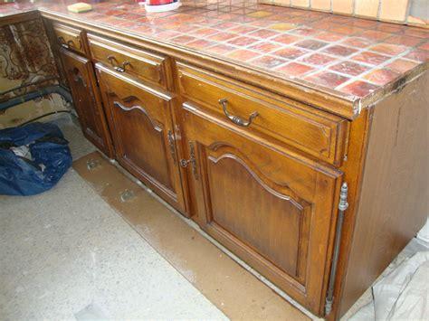 photo de meuble de cuisine changer plan de travail cuisine carrele 3 renovation