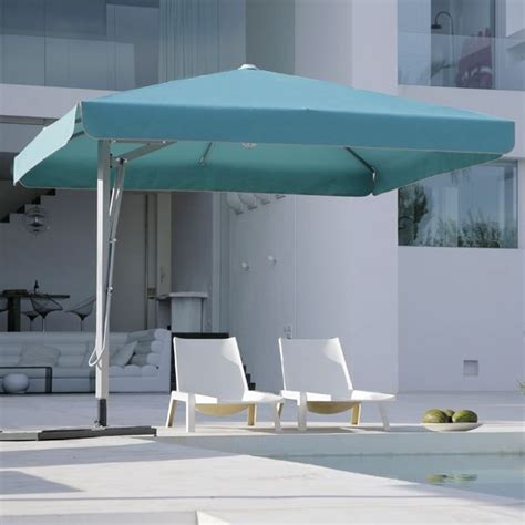 belvedere square offset outdoor umbrella modern patio